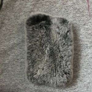 Accessories - iPhone  fuzzy case